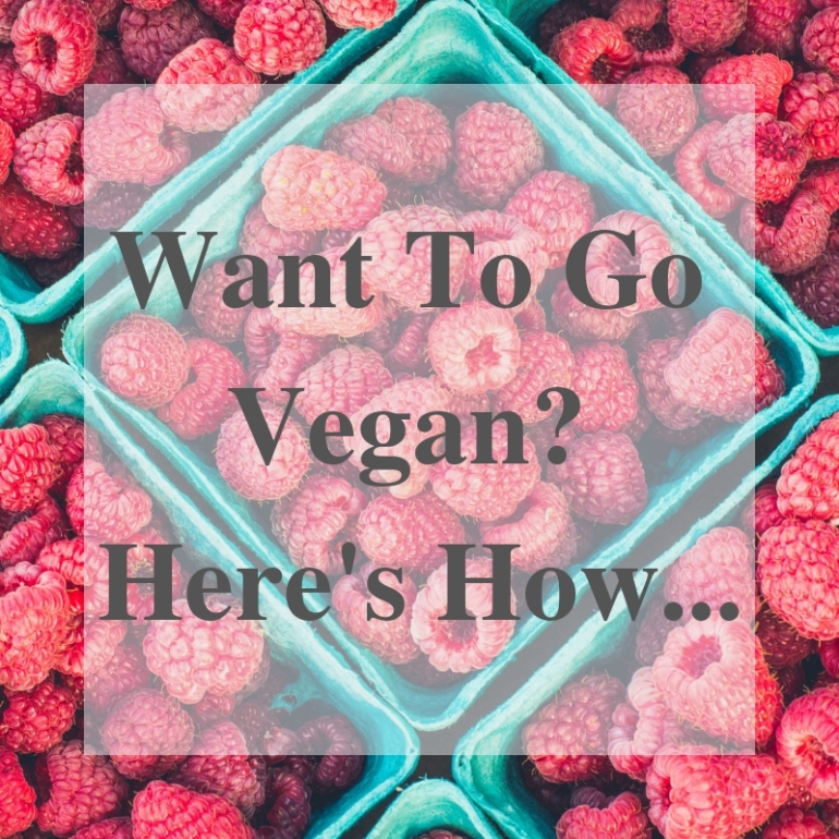 Want To Go Vegan_ Here's How...