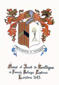 Jacob de Rouffignac Family Coat of Arms